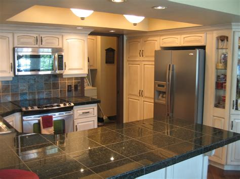 granite tile kitchen countertops granite tile countertops kitchen traditional with country