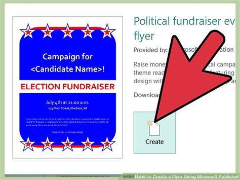 design a flyer with publisher how to create a flyer using microsoft publisher 11 steps