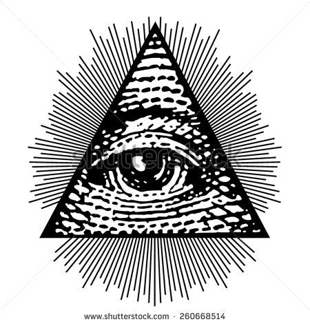 tattoo mata piramid eye of providence stock photos images pictures
