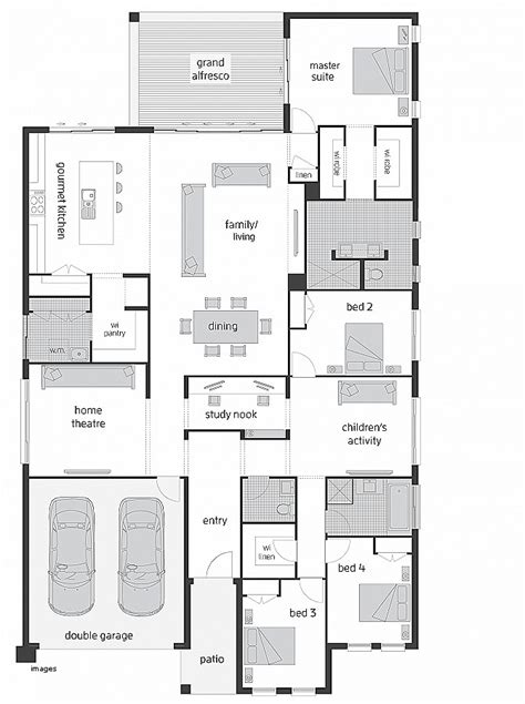 house plan house plans with butlers pantry