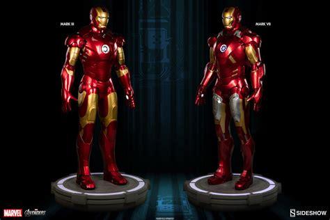 marvel iron man mark vii life size bust by sideshow marvel iron man mark vii life size figure by sideshow