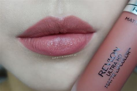 Lipstik Revlon Ori revlon ultra hd matte lipcolor lip swatch