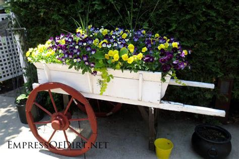 wooden wagon planter wooden wagon planter pictures photos and images for