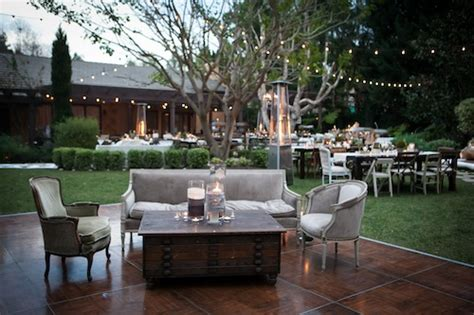 Backyards To Rent For Weddings by Eclectic Wedding Found Vintage Rentals
