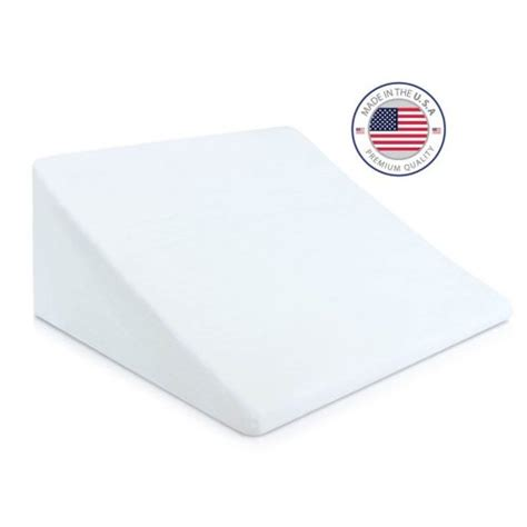 bed wedge support pillow 24 quot x22 quot white sensorpedic 174 target top 10 best wedge pillow reviews the perfect one 2018