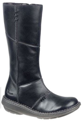 dr martens wedge mid calf boots in black uk8 wear