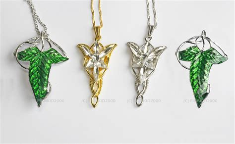 4 set lotr lord of the rings hobbit arwen evenstar