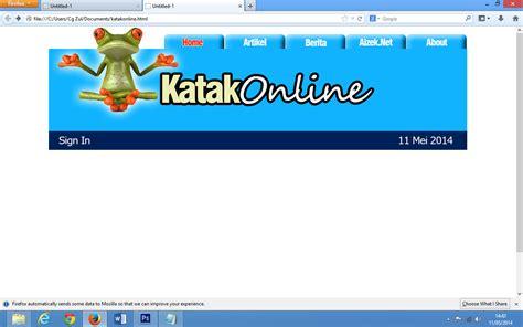 membuat website dengan photoshop membuat laman web dengan adobe photoshop zulbmohd