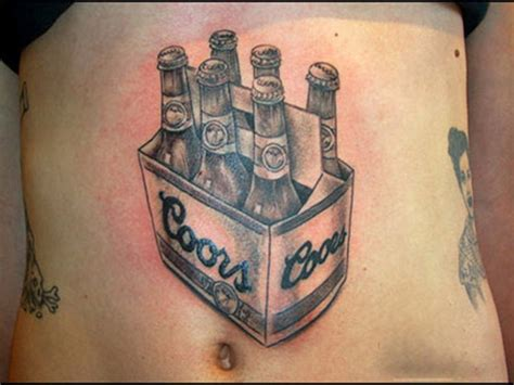 beer tattoo 25 awesomely bad tattoos we feast