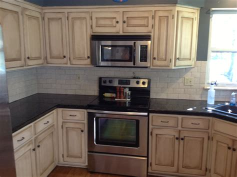 Faux Painted Kitchen Cabinets by Paint Techniques For Cabinets Images