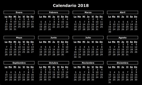 Calendario 2018 Usa Calendario 2018 2018 Calendar Printable For Free