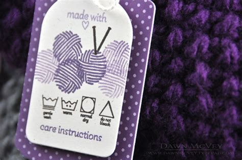 Tags For Handmade Crochet Items - my favorite things gift tags for handmade items