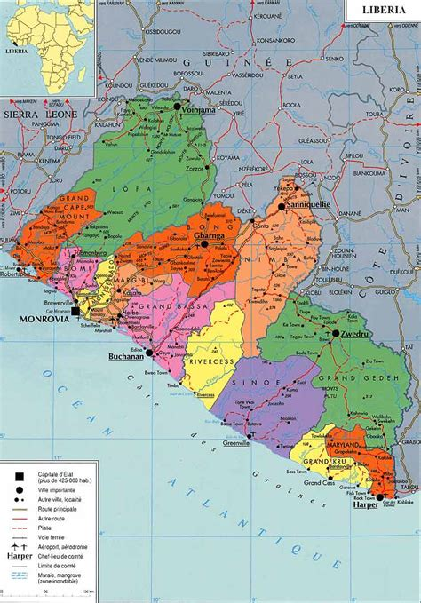 liberia on world map liberia map gallery