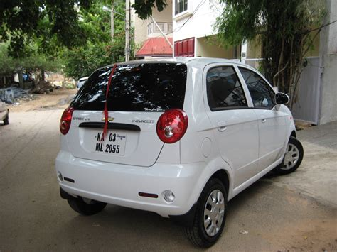 chevrolet spark ls review my new spark ls white colour beige interior