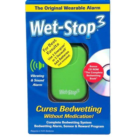 Bed Alarms Walmart by Stop3 Green Bedwetting Alarm Walmart