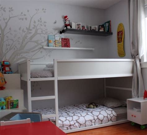 Girls Room Paint Ideas by 45 Cool Ikea Kura Beds Ideas For Your Kids Rooms Digsdigs