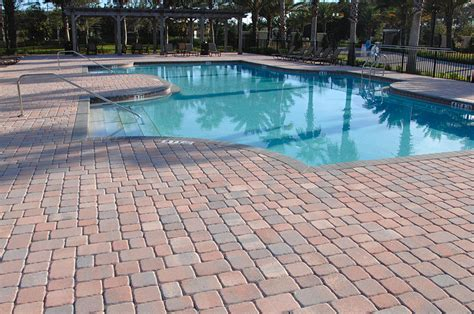 remodel your pool deck using thin overlay pavers tremron olde towne south beach pavers in ta pavers