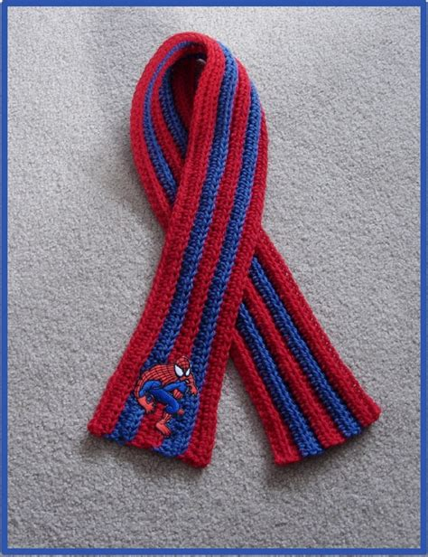 knitting pattern scarf boy 117 best crochet spiderman hero s images on pinterest