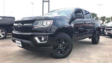 chevy colorado midnight edition 2018 chevrolet colorado midnight edition 3 6l v6