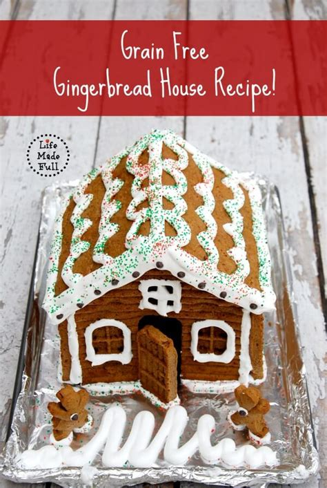 gingerbread recipe for houses grain free gingerbread house recipe life made full