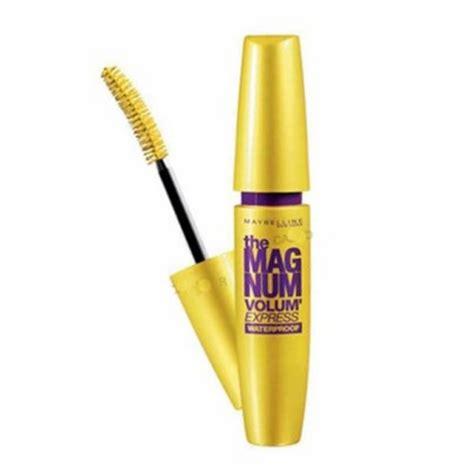 Maybelline Vex Magnum Wp Black jadikan bulu mata lebih tebal dengan maybelline magnum