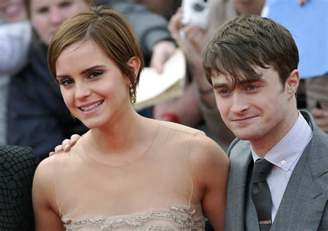 emma watson and daniel radcliffe harry potter stars daniel radcliffe emma watson rupert