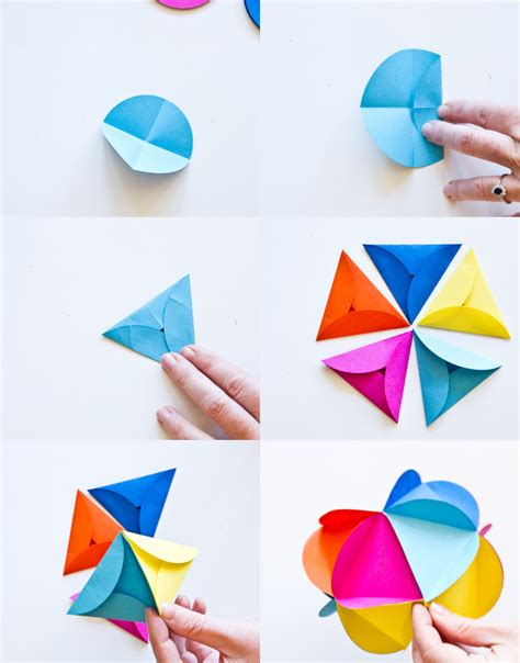 Origami Diy - paper decorations lightcameramonkey