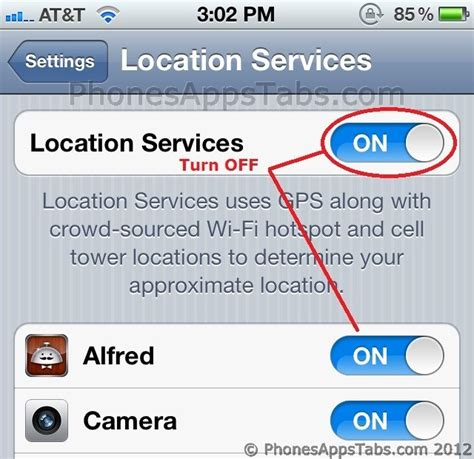 turn location services iphone battery saving tips for iphone and