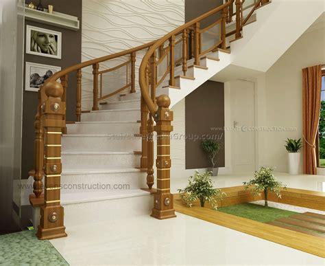 wooden banister designs wooden staircase designs kerala www pixshark com