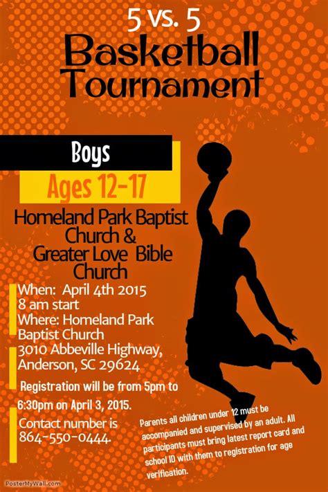 Basketball Tournament Program Template pics for gt youth basketball tournament flyer