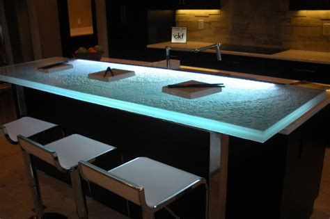 Glass Countertops Pros And Cons by The Advantages Of A Glass Countertop Cgd Glass Countertops