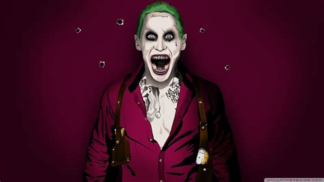 New Kaos 3d Joker 12 jared leto joker wallpapers wallpaper cave
