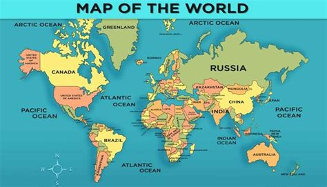 printable a4 world map showing countries world map of countries download this printable maps of