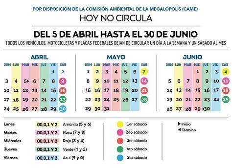 Hoy Circula Doble 24 De Mayo De 2016 | guia definitiva pa que no te trancen con el nuevo hoy no