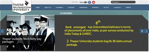 Thapar Mba Eligibility by Best Mba College Mba Admissions 2017 Thapar