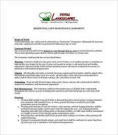 Contract For Landscaping Services by Doc 600582 Writing Service Level Agreement Template Do My Admission Essay Bizdoska