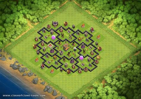 Coc Layout Attack Simulator | 1000 images about clash of clans on pinterest the o