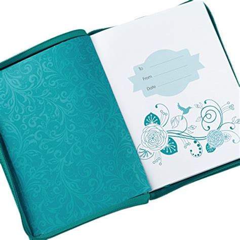 daily planner 2014 christian art publishers 2016 turquoise blue 18 month zippered inspirational daily