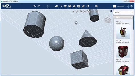 123d design tutorial youtube 123d design creating your first objects youtube