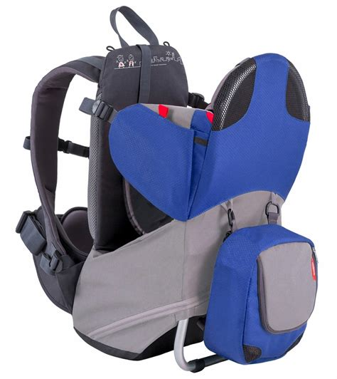 carrier backpack phil teds parade backpack baby carrier blue grey