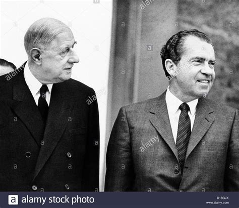 lade galle president charles de gaulle and richard nixon in