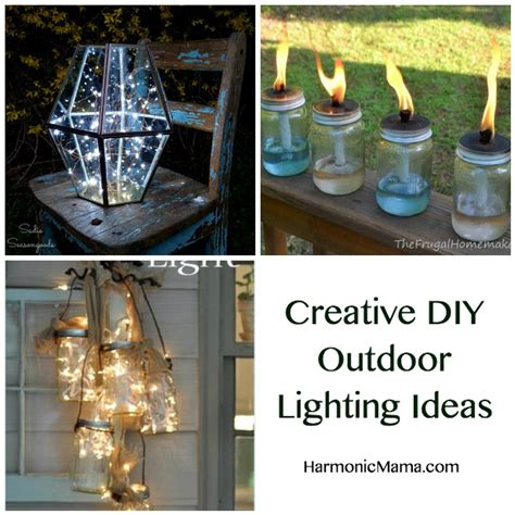 Outdoor Lighting Ideas Diy Friday Finds Creative Diy Outdoor Lighting Ideas Harmonic