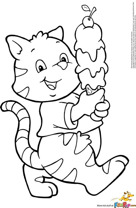 bad ice cream coloring pages ice cream cat 0 00 coloring pages pinterest