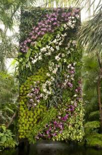 Vertical Garden Patrick Blanc Vertical Garden Of Orchids At New York