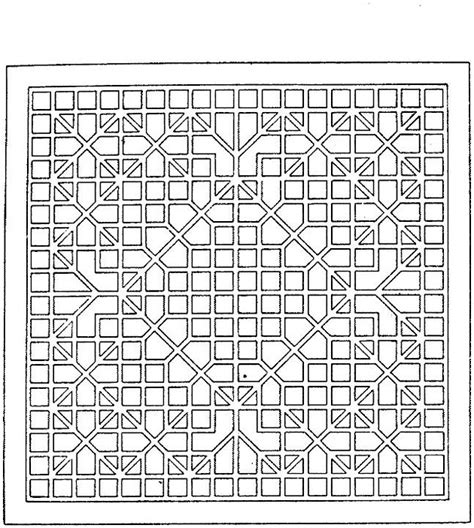 complicated geometric coloring pages free coloring pages of complex trees