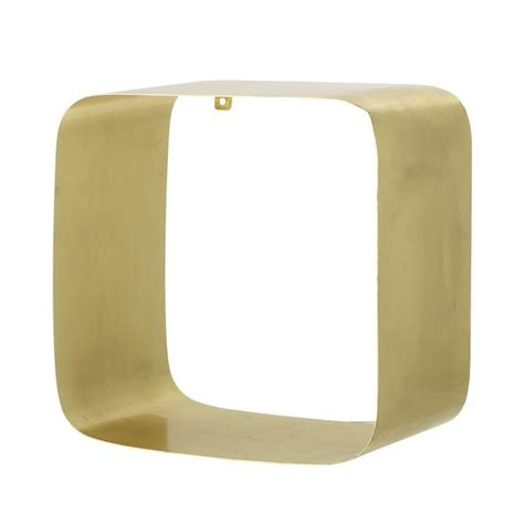 etagere bloomingville bloomingville etagere cube metal dore angles arrondis 48700089