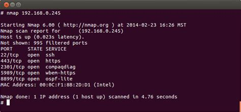 nmap scan getting started with nmap for system administrators