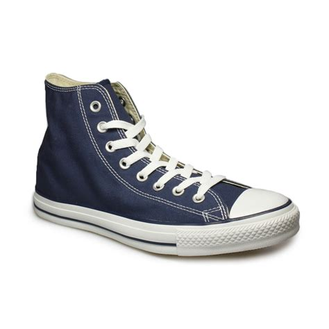 all sneakers mens converse all navy blue canvas mens womens trainers