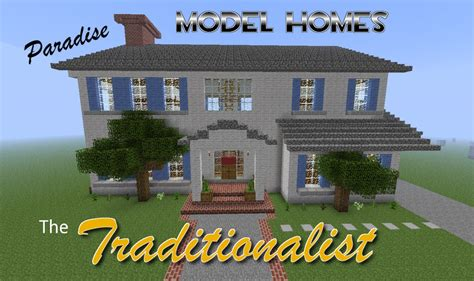 house builder design guide minecraft paradise model homes the traditionalist minecraft project