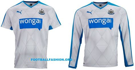 Jersey Newcastle United Away 2015 2016 newcastle united 2015 16 away kit football fashion org